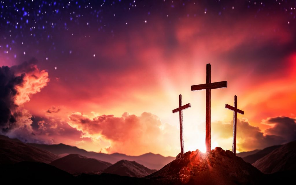 Picture of the Cross for repentance - Jesus is the Messiah
